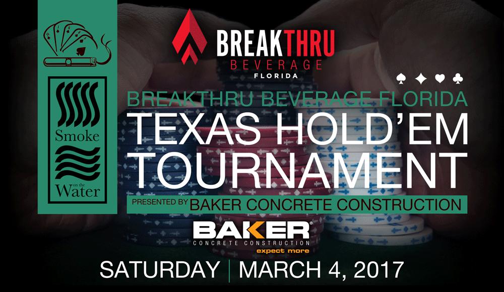 Texas Hold'em Tournament - Jason Taylor Foundation